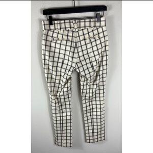 Anthropologie Pants - Anthropologie The Essential Slim Plaid Pants